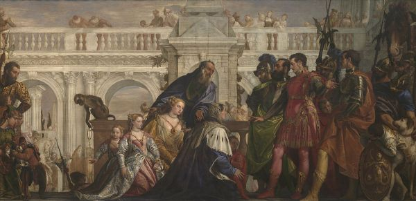 The Family of Darius before Alexander Paolo Veronese National Gallery London image for wikimedia commons.