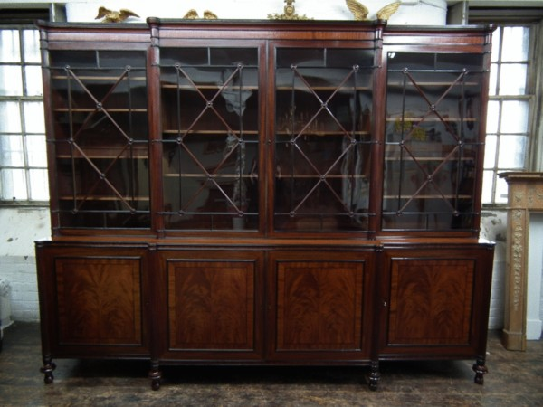Regency bookcase
