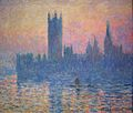 The Houses of Parliament, Sunset Claude Monet , 1903 National Gallery, Washington , D.C. photo public domain from Wikipedia Commns