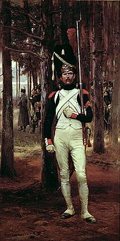 A Grenadier of the Imperial Guard Édouard Detaille (1848–1912) wikimediia commons