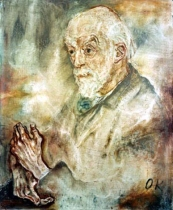 Auguste Henri Foral by Oscar Kokoschka (1910) © Stadtarchiv Mannheim