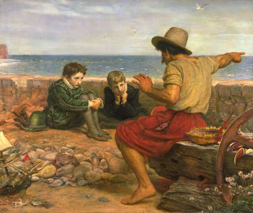 The Boyhood of Raleigh Sir John Everett Millais (1871) Tate Gallery photo from Wikimedia Commons
