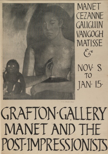 Poster from the Grafton Gallery