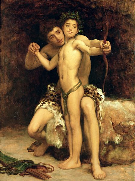 448px-Frederic_Leighton_-_The_Hit