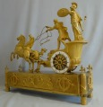Empire Clock, ormulu, showing Minerva driving the chariot of Diomedes, ~1810