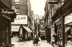 photo of Shepherd's Market, 1938 http://www.shepherdmarket.co.uk/history.htm