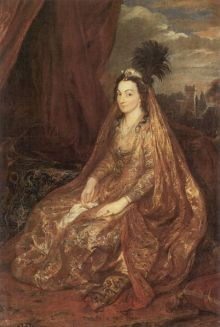 Lady Shirley Anthony Van Dyck, 1622 oil on canvas H.M. Treasury and The National Trust, Petworth House (Sussex) photo from the Yorck project via Wikimedia Commons