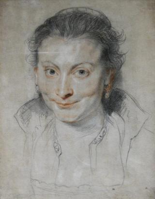 Isabel Brandt Peter Paul Rubens, 1621 drawing The British Museum photo editted and cropped with photoshop from Wikimedia Commons
