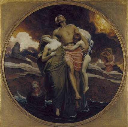 And the Sea Gave Up the Dead Which Were in It Frederic Lord Leighton, 1892 Oil on canvas, support 90 X 90 inches Tate Britain