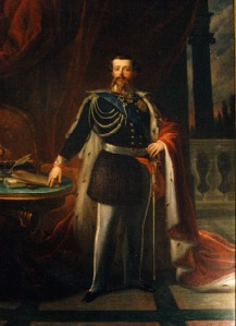 Vittorio Emanuele II di Savoia artist unknown Museo nazionale del Risorgimento, Torino photo public domain from Wikimedia Commns