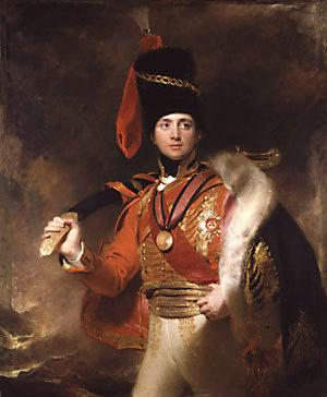Charles Stewart, The Third Marquess of Londonderry Sir Thomas Lawrence, 1812 The National Portrait Gallery photo in public domain from Wikimedia Commons