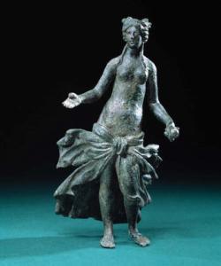Roman bronze statue of Venus St. Albans Museum, UK