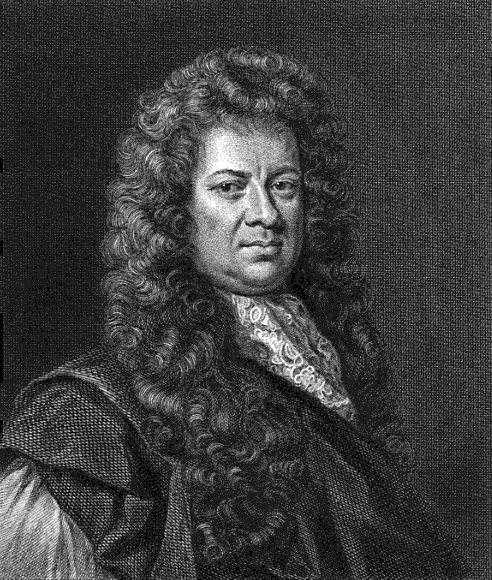Portrait of Samuel Pepys Engraved by T. Bragg for the 1825 edition of Pepys Diary original portrait by Geoffrey Kneller