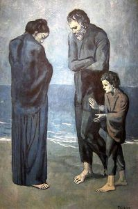The Tragedy Pablo Picasso, 1903