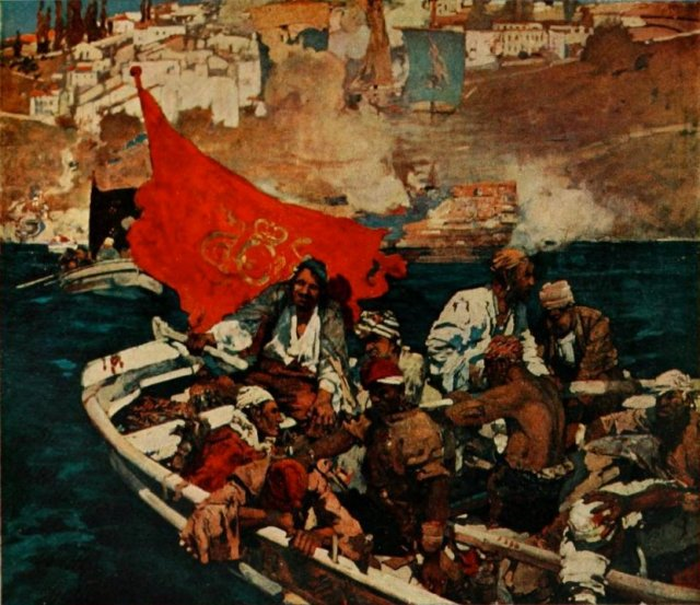 The Buccaneers Frank Brangwyn, 1893 Internet Archive version of a copy in the Ontario College of Art. Web. 28 December 2012   from Victorian Web