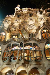 Casa Batllo, Barcelona Antoni Gaudi,  photo by Massimo Catarinella, 2010, from Wikimedia Commons by Creative Commons attribution