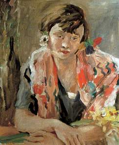 Susan Adrian Daintrey oil on canvas, 22 x 19 in given to the Leeds Art Gallery by Sir J Duveen, 1927 © the artist's estate photo credit: Leeds Museums and Galleries from BBC Your Paintings