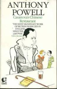Hugh Moreland in the Mortimer Mark Boxer Cover for Powell  Casanova's Chinese Restaurant, Flamingo edition, 1984