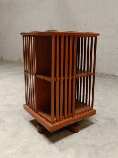 Rotating Book Shelf Teak, twentieth century H 41 x W 24 x D 24 in Bangalore for sale (12/19/14) at www.phantom.hands.in