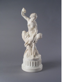 "Cupid Chastised by Venus Follower of Étienne Maurice Falconet (1716 - 1791) marble statuette, height 15 "" The Wallace Collection photo from the Wallace Collection by Creative Commons License"
