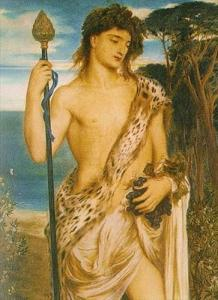 Bacchus Simeon Solomon, 1868 oil on canvas photo from Artmagick.com