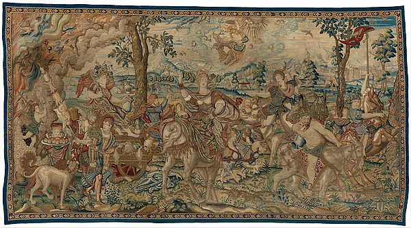 Pieter Coecke van Aelst, 1560-1575 Wool, silk, silver-gilt thread 19-23 warps per inch 153 x 267 in. The Metropolitan Museum of Art