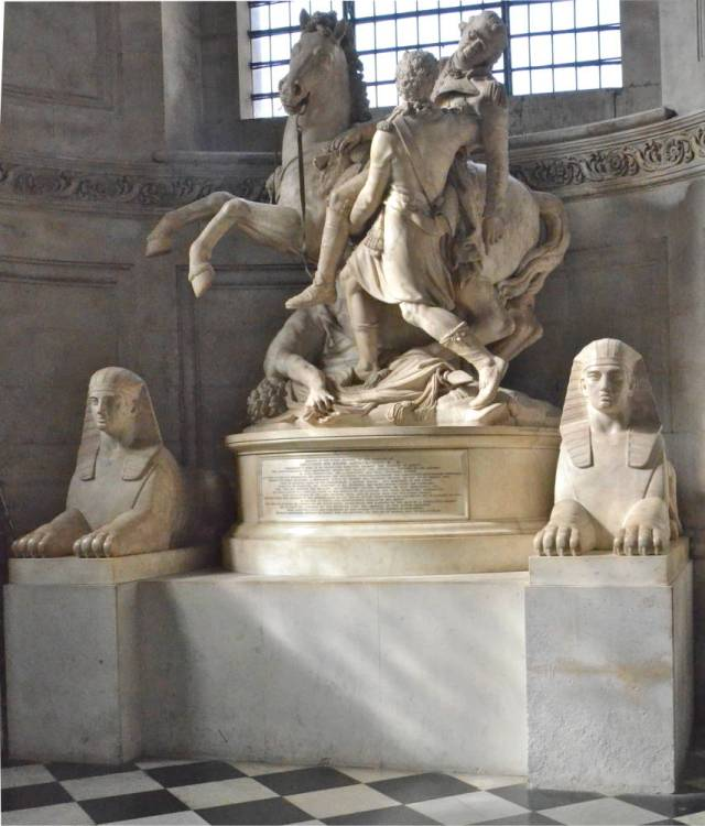 Memorial for Lieutenant General Sir Ralph Abercrombie, K. B. Sir Richard Westmacott, RA, 1801 Marble St. Paul's Cathedral, London photo courtesy of Geogre P. Landow and the Victorian Web
