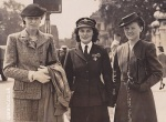 Voluntary Aid Detachment Uniform British Red Cross (Beatrice Jane Hayward, center), 1945 from www.qarnac.co.uk