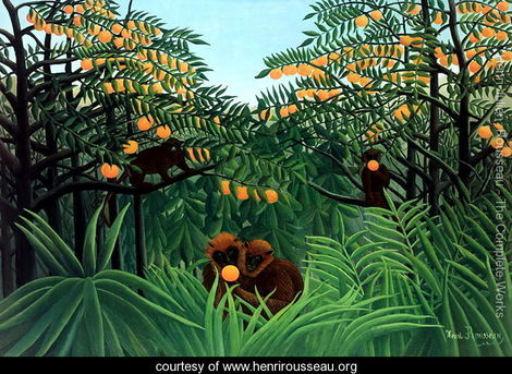 Tropiques Henri Rousseau, 2007 private collection photo from HenriRousseau.org