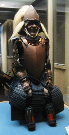 Suit of Samurai Armor The Tokyo National Museum photo in public domain courtesy of PHG via Wikimedia Commons