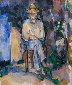 The Gardener Vallier c.1906 Paul C?zanne 1839-1906 Bequeathed by C. Frank Stoop 1933 http://www.tate.org.uk/art/work/N04724
