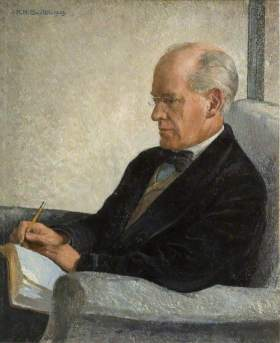 John Galsworthy Sauter, Rudolf Helmut; University of Birmingham; © the copyright holder. Photo credit: University of Birmingham from ArtUK.org