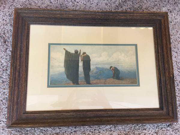 The Omnipresent Baron Arild Rosencrantz print, 25 x 18 in offer on Denver Craig's list, January, 2017