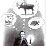 Edgar Allan Poe had writer's block once Charles Addams