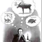 Edgar Allan Poe had writer's block once Charles Addams